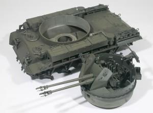 M42A1ダスター自走高射機関砲 基本塗装(基本色)