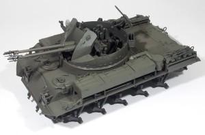 M42A1ダスター自走高射機関砲 基本塗装(明色)