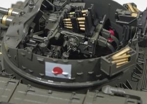 M42A1ダスター自走高射機関砲 デカール貼り