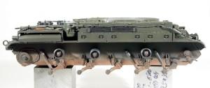M42A1ダスター自走高射機関砲 車体下面の汚し