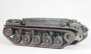 M42A1ダスター自走高射機関砲 足まわりの組立て