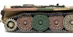 計画駆逐戦車E-10 足まわりの組立て