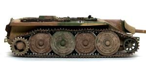 計画駆逐戦車E-10 車輪の汚し