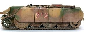 計画駆逐戦車E-10 シュルツェンの取り付けと汚し