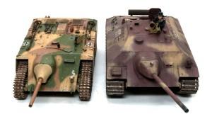 計画駆逐戦車E-10 E-25と並べてみた