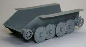 駆逐戦車E-10 足回りの組み立て