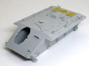 計画駆逐戦車E-10 車体の組立て