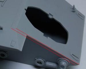 計画駆逐戦車E-10 装甲板の厚みがおかしい