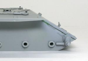 計画駆逐戦車E-10 溶接痕を移動