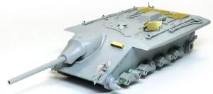 計画駆逐戦車E-10 主砲と 機関銃の組み立て
