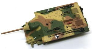 計画駆逐戦車E-10 細部の塗分け