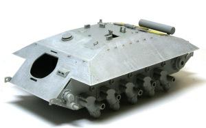 駆逐戦車E-25 圧延鋼板の表現