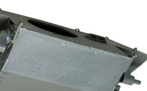 駆逐戦車E-25 装甲板の継ぎ目
