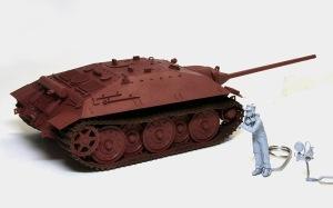 駆逐戦車E-25 基本塗装