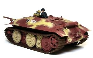駆逐戦車E-25 デカール貼り