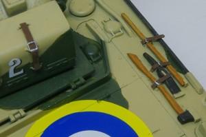 シャーマン2初期型 OVMの塗分け