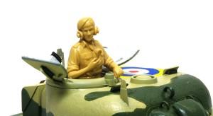 シャーマン2初期型 タスカ製イギリス戦車兵