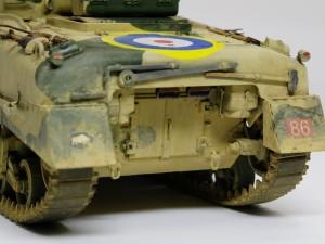 シャーマン2初期型 車体後部
