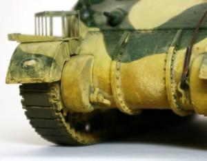 シャーマン2初期型 ツヤ消しクリアでピグメントが変色