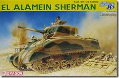 シャーマン2初期型 エル・アラメイン 1/35 ドラゴン