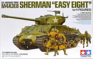 アメリカ・M4A3E8シャーマン・イージー・エイト 1/35 タミヤ(アスカ )