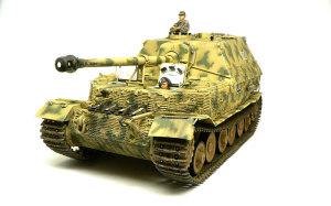 ドイツ重駆逐戦車・エレファント OVMの取り付け
