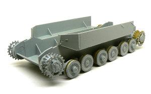 ドイツ重駆逐戦車・エレファント 足まわりの組立て