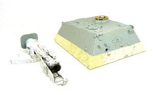 エレファント 戦闘室と砲尾