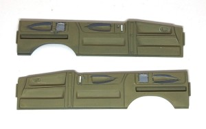エルグランドE51前期型 ドア内側の加工