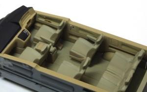 エルグランドE51前期型 インテリアの塗装と組立て