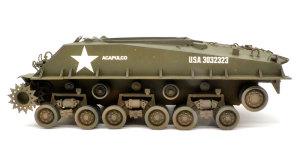 M4A3E8シャーマン イージー・エイト 車体下部の汚し