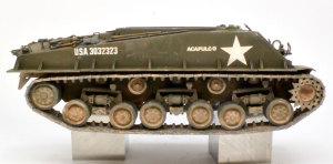 M4A3E8シャーマン イージー・エイト 履帯の取り付け