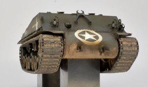 M4A3E8シャーマン イージー・エイト 車体前部の汚し