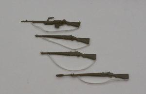 M4A3E8シャーマン イージー・エイト 小銃の組み立て