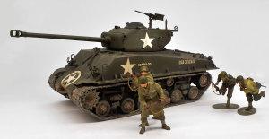 アメリカ戦車・M4A3E8シャーマン イージー・エイト 1/35 タミヤ
