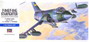 F-104Gスターファイター 1/72 ハセガワ