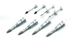 ミサイルの塗装