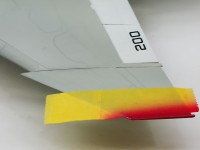 翼端の塗装