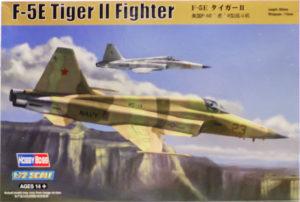 F-5Eタイガー2 1/72 ホビーボス