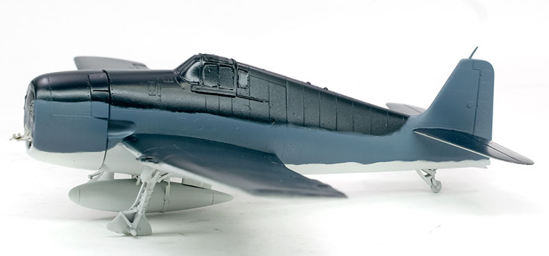 F6F-3ヘルキャット 塗装