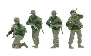 降下猟兵第3連隊 デューロパテで上着を作る