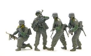 降下猟兵第3連隊 マスキングテープやコピー用紙でお手軽ディテールアップ