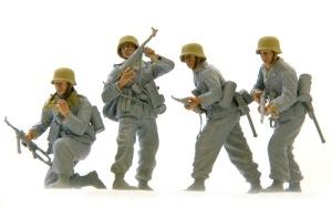 降下猟兵第3連隊 顔の塗装