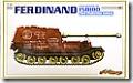 ドイツ・重駆逐戦車フェルディナンド150100号車 1/35 サイバーホビー