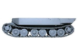 フェルディナンド最終生産車輌 履帯の組み立て