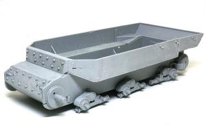 フェルディナンド最終生産車輌 圧延鋼板のテクスチャ