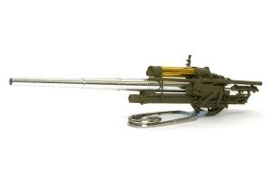 8.8cm対空砲Flak18 砲身と揺架