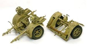 8.8cm対空砲Flak18 リンバーの仕上げ
