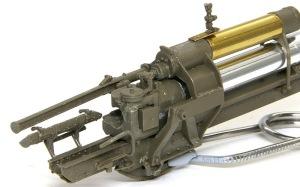 8.8cm対空砲Flak18 精巧な砲尾