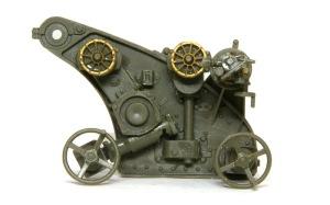 8.8cm対空砲Flak18 左側の砲架